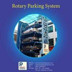 Rotary parking is extremely reliable .  #SmartParkingOman #RotaryAutomatedCarParkingSystem RACPS