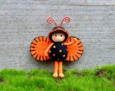 Halloween Doll Bug Bendy