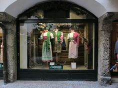 Salzburg traditional clothes for women