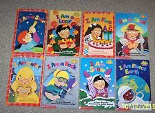 8 Scholastic Book Lot Science Nature Early Level 1 Readers Jean Marzollo Age 5-8