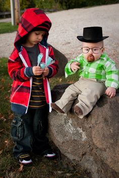 Officially the cutest Breaking Bad kids I've ever seen