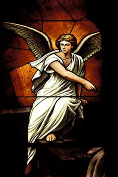 Religious Art Prints | image 4-230-9 Religious Art, Angel, Stained Glass