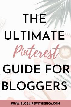 The Ultimate Pinterest Guide For Bloggers: So, you drafted and posted your blog post. But, you still aren't seeing the traffic you anticipated as a blogger.Are you currently using Pinterest to promote your blog and posts? If you aren't you are really missing out on views. Pinterest is the leading visual search engine that houses articles and blogs for many readers to view, pin, and share. #pinterest #blogtips #growyourblog #socialmediatips #guide