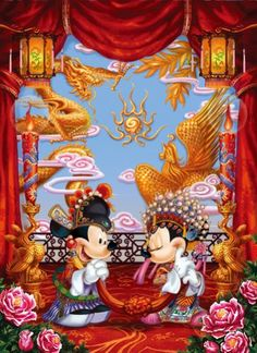 Two of the 1000 piece wedding costume China dream travelogue D1000330 japan import by Tenyo * See this great product.