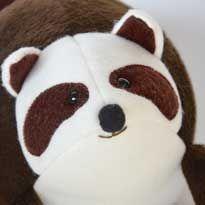 Raccoon Softie Tutorial   Free Pattern