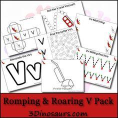 Free Romping & Roaring V Pack - 3Dinosaurs.com