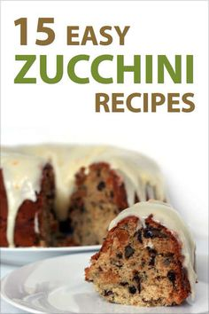 15 Easy Zucchini Recipes