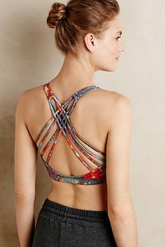 Kiera Cross-Back Bra
