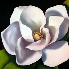 Nel's Everyday Painting: May Magnolia - SOLD