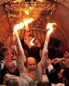 Miracle of the Holy Fire in Jerusalem