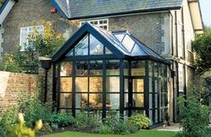 Victorian Garden Design on Trombe Conservatory Choose The Right Conservatory Design