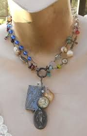 upcycled french vintage baubles jewelry - Google Search