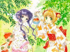 CLAMP, Cardcaptor Sakura, Daidouji Tomoyo, Kinomoto Sakura, 1024x768 Wallpaper