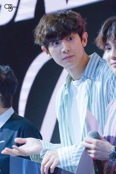 Chanyeol - 170610 Skechers Sweet Monster K-Pop Dance Competition 2017 Credit: Seollemin. Park Chanyeol, Baekhyun, Kyung Hee, Exo Members, Together We Can, Listening To Music, Rapper, Singer, Kpop