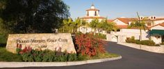 Piece of Home: The Elegant Main Entrance at Palos Verdes Golf Club spent so much time here and cherished memories.  BEST SUNDAY BRUNCH EVER!!