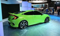 The 2016 Honda Civic is the featured model. The 2016 Honda Civic Coupe Green image is added in the car pictures category by the author on Jun 2016 Honda Civic Coupe, Honda Civic Vtec, New Car Photo, Honda Cars, Japan Cars, Sexy Cars, Dream Cars, Car Images, Car Pictures
