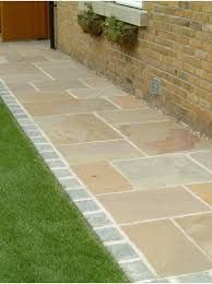 36 garden paving designs to make the most of your outdoor space - backyard mastery - outdoor space decor, landscaping and diy projects - decoration - - Stone Garden Paths, Garden Pavers, Garden Stones, Stone Path, Patio Slabs, Paver Walkway, Inexpensive Landscaping, Home Landscaping, Sandstone Paving