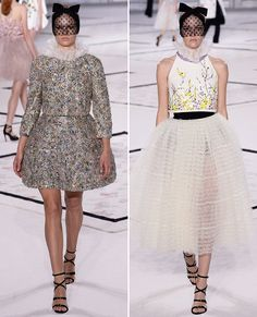 Your Guide to Spring 2015 Couture Fashion Week - Collars Go Victorian At Giambattista Valli from #InStyle