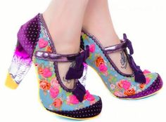 These Valentine's Day Shoes From Irregular Choice are So Romantic #summershoes #sandals trendhunter.com