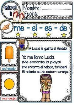 SPANISH READING - GUIDED READING PASSAGES - BEACH DAY - LEVEL 1 - TeachersPayTeachers.com