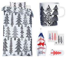 Christmas textiles by Marimekko