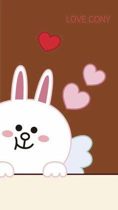 Cute Love Gif, Cute Love Pictures, Friends Wallpaper, Couple Wallpaper, Lines Wallpaper, Bts Wallpaper, Cellphone Wallpaper, Iphone Wallpaper, Line Cony