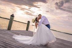 Islamorada fish company is a nice place for a beach wedding ceremony. Seal it with a kiss on the dock at sunset.