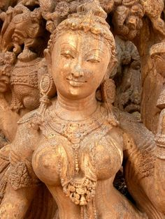 Apsara, sandstone sculpture from Odisha