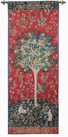 RRA x Medieval Orange Tree Wall Tapestry Gobelin 2005 Medieval Tapestry, Medieval Art, Renaissance Art, Tapestry Fabric, Tapestry Weaving, Wall Tapestry, Art Chinois, Unicorn Pictures, Art Japonais