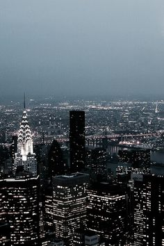 New York City at night city life Empire State Building city photography bright lights New York Tumblr, Travel Photographie, City Aesthetic, Chrysler Building, City That Never Sleeps, Dream City, Night City, City Lights At Night, Night Night