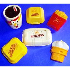 Man this brings back memories. The transforming Mickey D's toys!