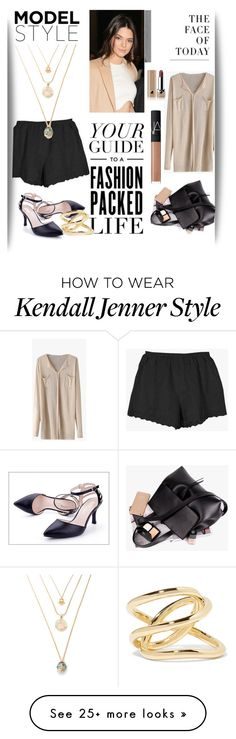 """""""Fashion Packed Life"""" by cranetattoo on Polyvore featuring Bloomingdale's, Jennifer Fisher, Calvin Klein, Marc Jacobs and NARS Cosmetics"""