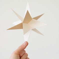 3 dimensional star, DIY