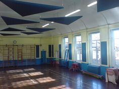 Acoustic Panels and Sails   Whitehill Primary School