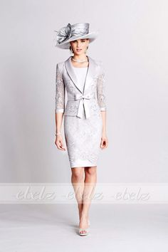 2 piece lavender blush vintage lace mother of the bride dress with jacket cap sleeves knee length short party dress suits