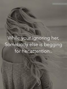 just remember when you're ignoring her - Google Search