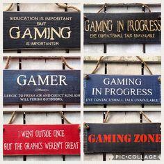 Gift for Men Boys Boyfriend Gift Teenage Son Gift Gaming Sign
