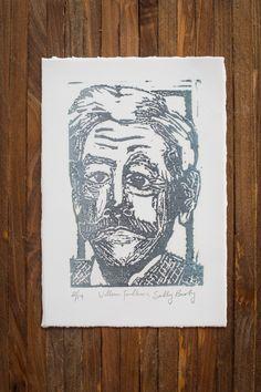 Love this William Faulkner print!
