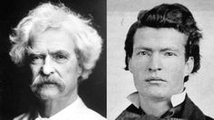 Mark Twain: With And Without His Mustache.  We've got 17 more.  http://triviahappy.com/articles/18-historical-figures-without-their-famous-facial-hair