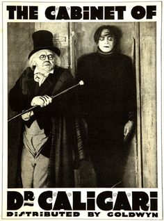 The Cabinet of Dr. Caligari (1920) - Dr. Caligari's somnambulist, Cesare, and his deadly predictions.