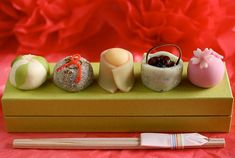 Artistic Japanese Sweets