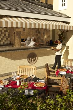 Dino's Pizzeria at Sandals Grande St. Lucian | Sandals Resorts | St. Lucia