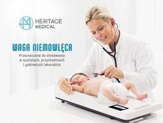 Przenośna, elektroniczna waga do kontroli masy ciała niemowląt i małych dzieci.  Medyczna waga niemowlęca do zastosowania w szpitalach, przychodniach oraz gabinetach lekarskich jak i w pracy położnych i pielęgniarek środowiskowych.  Waga zalegalizowana do celów medycznych.  GWARANCJA 2 lata