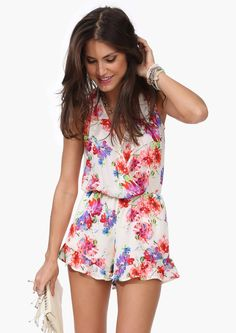 Kahlo Floral Romper | Shop for Kahlo Floral Romper Online/ Cute for the Beach...