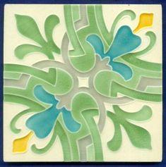 Original Jugendstil Fliese Kachel Relief, Art Nouveau Tile, Tegel, Carreau. Dekor: Fuchsie / Fuchsia. Jedoch verschicke ich aus Sicherheitsgründen maximal 8 Fliesen in einem Paket! | eBay!