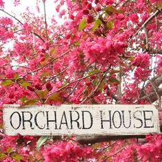 Personalised House Name Sign for my writing house