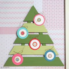 Tuto déco Noël : Peindre un sapin décoratif en bois Projects To Try, Kids Rugs, Gnome, Home Decor, Fir Tree, Wrapping, Creative Crafts, Decoration Home, Kid Friendly Rugs