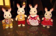 famille lapin sylvanian families