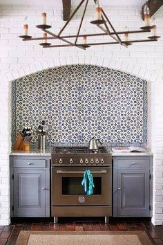 modern kitchen design ideas white and blue kitchen with backsplash