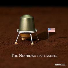 Morning! :) Nespresso #Advertising
